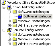 Computerkonfiguration - Softwareinstallation
