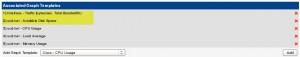Cacti - Host Templates - ucd/net SNMP Liste2
