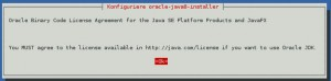 Debian Java 8 Installation in Konsole