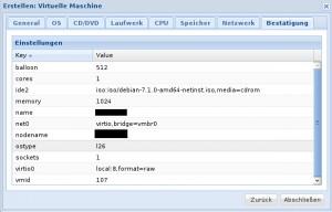 Proxmox 3 - KVM - Bericht