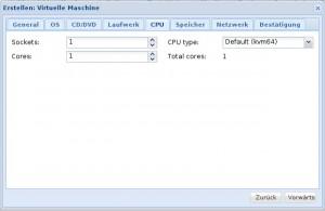 Proxmox 3 - KVM - CPU