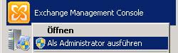 SBS 2011 - Exchange Management Console