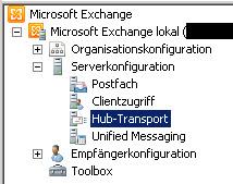 SBS2011 - Exchange - Hub-Transport