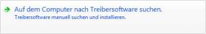 Windows 7 - Treibersoftware suchen