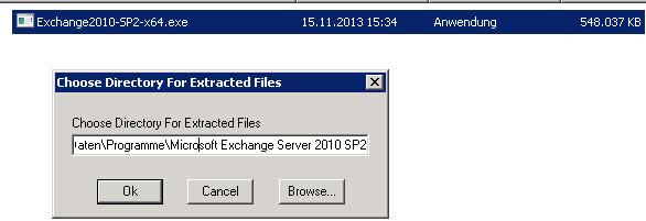 SBS 2011 – Exchange 2010 – SP2 Installation – TASTE-OF-IT