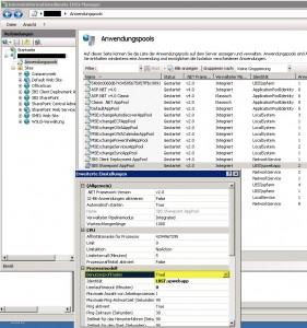 SBS 2011 - IIS SPWebApp Profil