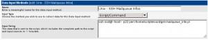 Cacti - Data Input Methods - Mailqueue