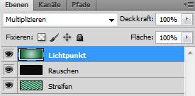 Adobe Photoshop - Ebene - Rauschen