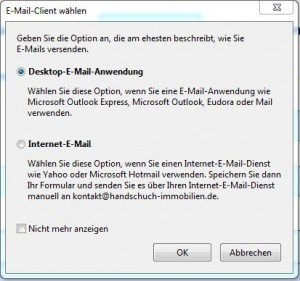 Adobe LiveCycle Designer - Mailversand