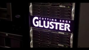 Cutting Edge baut auf GlusterFS