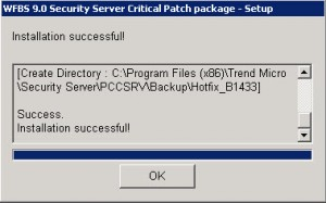 Trend Micro Worry-Free Patch 1433