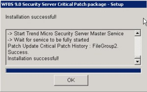 Trend Micro Worry-Free Patch 1439