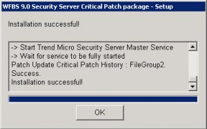 Trend Micro Worry-Free Patch 1452