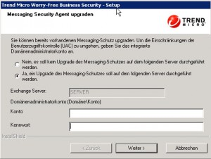 Trend Micro Worry-Free Messaging Agent