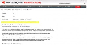 Trend Micro Worry-Free Business Advanced Version 9 Hotfix