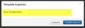 Joomla 3 - Template Copy New Name
