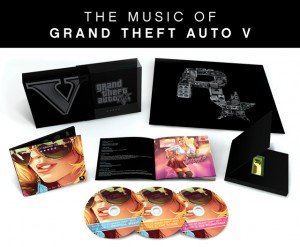 GTA 5 Music CDs