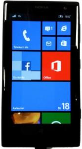 Windows Phone Startbildschirm