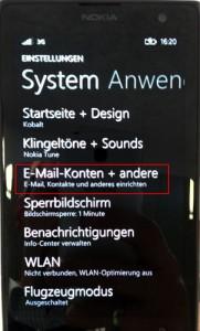 Windows Phone E-Mail