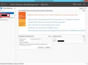 Windows Server 2012 Active Directory Übersicht