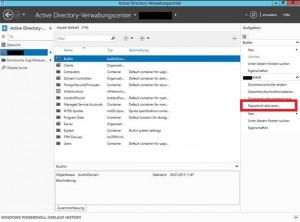 Windows Server 2012 Verwaltungscenter