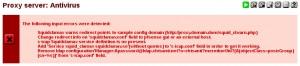 pfSense Squid Antivirus Fehler