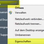 Windows 7 Computer Eigenschaften