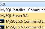 Windows7 Oracle MySQL Command Line Client