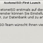 Debian AcetoneISO Start