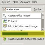 Debian AcetoneISO Installverlauf