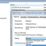 Windows 7 Defrag Dienst deaktivieren