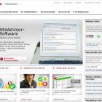 McAfee SiteAdvisor Webseite