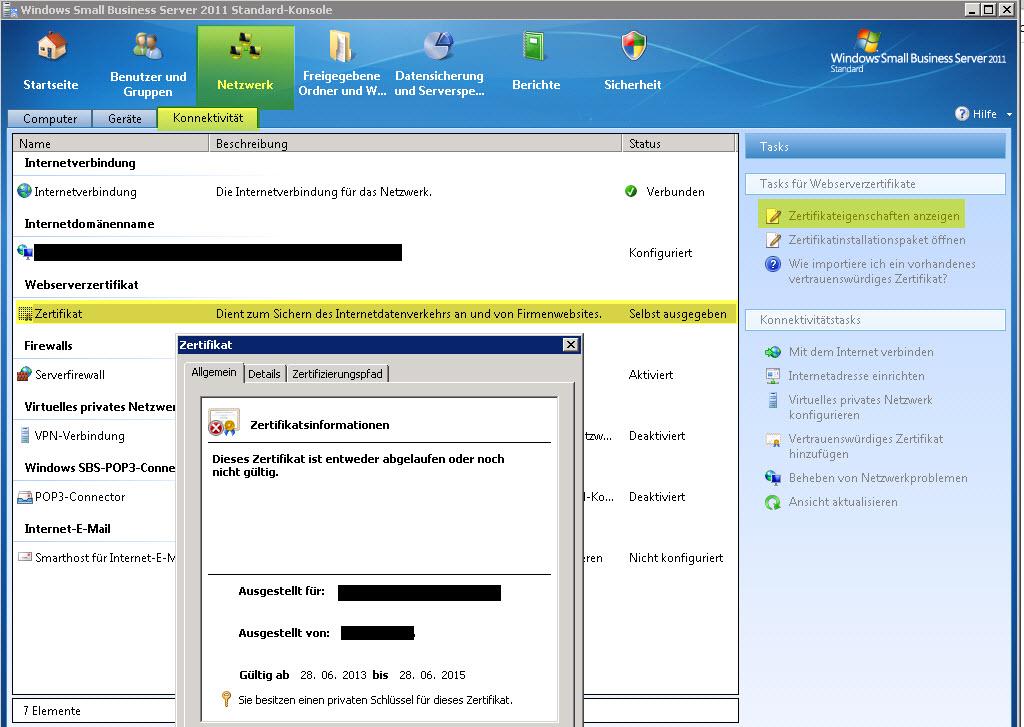 sbs 2011 zertifikat