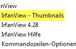 IrfanView Thumbnails