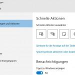 Windows10 Benachrichtigungen