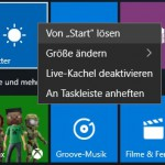 Windows10 Live-Kachel