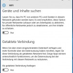 Windows10 Einstellungen WiFi