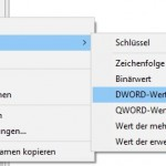 Windows10 Regedit Schlüssel