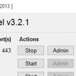 XAMPP Control Panel Apache Konfig