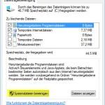 Windows10 Systemdatien bereinigen