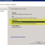 SBS 2011 GPO Firewall definiert