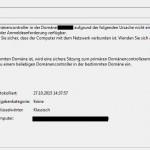 Windows EventID 5719 Netlogon