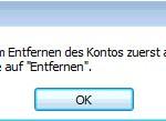 Outlook Kalender entfernen