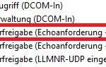 Windows Server 2012 Regel ICMP