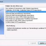 Outlook 2010 Import Export Datei