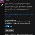 Windows 10 Option Online Suche