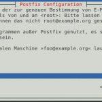 Proxmox VE 4 Installation Postfix