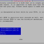 Hetzner Grub Install Disk