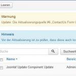 Joomla 3.6.1 Updater Update