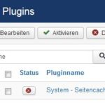 Joomla 3 Plugin System Cache